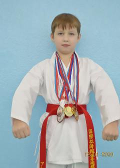 Победитель и призер региональных соревнований. Спортивный разряд по виду спорта каратэ - 2 юношеский